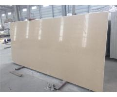Engineered Quartz Stone Beige Color for Solid Surface