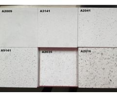 Fine Grain White Quartz Stone for Kitchen Top